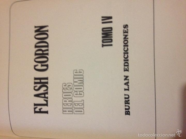 Tebeos: LOTE DE TRES LIBROS COMICS DE FLASH GORDON AÑO 1972 BURU LAN - Foto 5 - 58222403