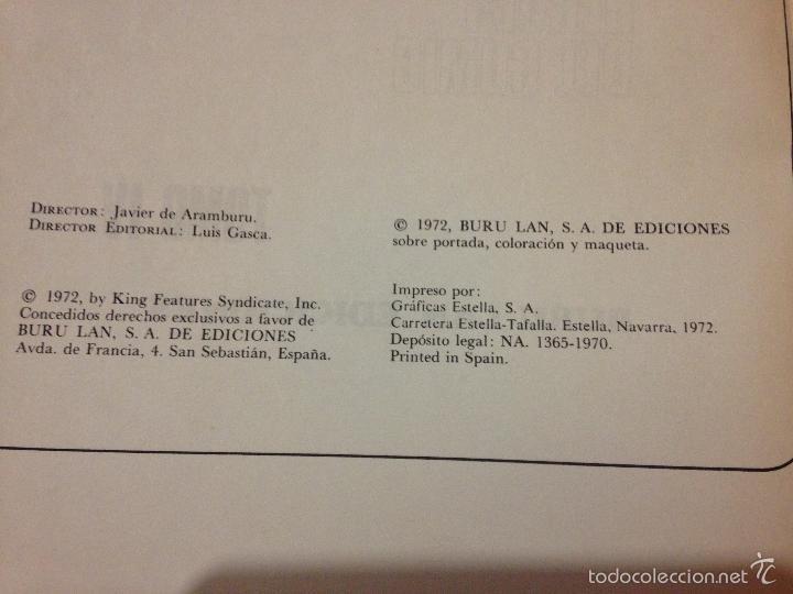 Tebeos: LOTE DE TRES LIBROS COMICS DE FLASH GORDON AÑO 1972 BURU LAN - Foto 6 - 58222403