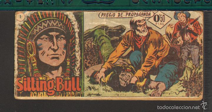 TEBEOS-COMICS CANDY - SITTING BULL - HISPANOAMERICANA 1951 - COMPLETA - ORIGINAL - *BB99 (Tebeos y Comics - Hispano Americana - Otros)