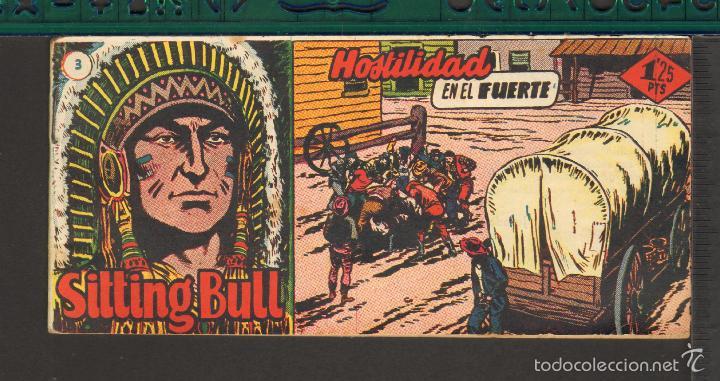 Tebeos: TEBEOS-COMICS CANDY - SITTING BULL - HISPANOAMERICANA 1951 - COMPLETA - ORIGINAL - *BB99 - Foto 3 - 58328372