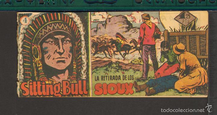 Tebeos: TEBEOS-COMICS CANDY - SITTING BULL - HISPANOAMERICANA 1951 - COMPLETA - ORIGINAL - *BB99 - Foto 4 - 58328372