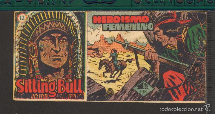 Tebeos: TEBEOS-COMICS CANDY - SITTING BULL - HISPANOAMERICANA 1951 - COMPLETA - ORIGINAL - *BB99 - Foto 12 - 58328372