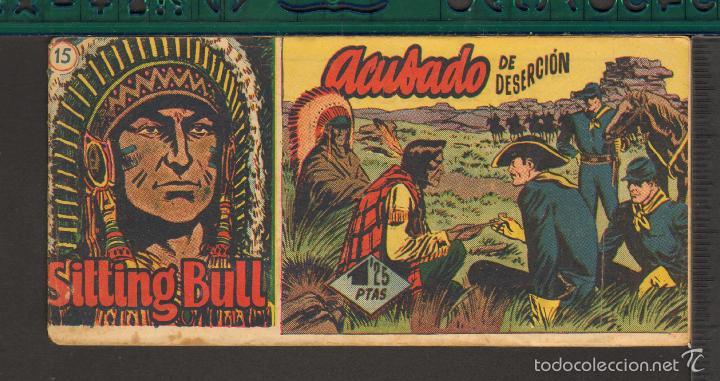 Tebeos: TEBEOS-COMICS CANDY - SITTING BULL - HISPANOAMERICANA 1951 - COMPLETA - ORIGINAL - *BB99 - Foto 15 - 58328372