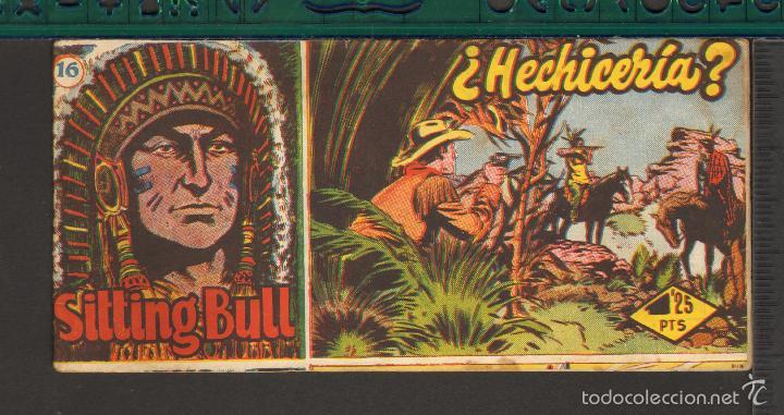 Tebeos: TEBEOS-COMICS CANDY - SITTING BULL - HISPANOAMERICANA 1951 - COMPLETA - ORIGINAL - *BB99 - Foto 16 - 58328372