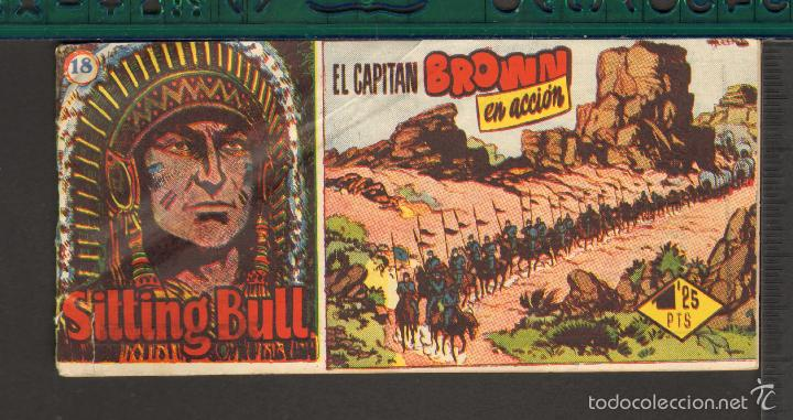 Tebeos: TEBEOS-COMICS CANDY - SITTING BULL - HISPANOAMERICANA 1951 - COMPLETA - ORIGINAL - *BB99 - Foto 18 - 58328372