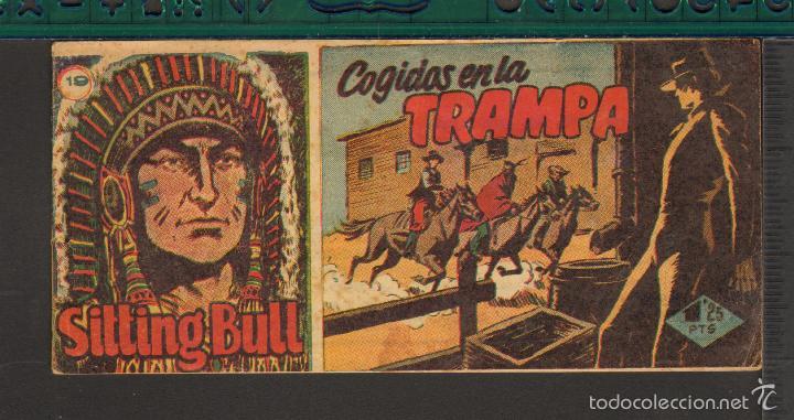 Tebeos: TEBEOS-COMICS CANDY - SITTING BULL - HISPANOAMERICANA 1951 - COMPLETA - ORIGINAL - *BB99 - Foto 19 - 58328372