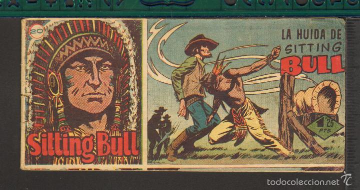 Tebeos: TEBEOS-COMICS CANDY - SITTING BULL - HISPANOAMERICANA 1951 - COMPLETA - ORIGINAL - *BB99 - Foto 20 - 58328372