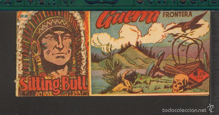 Tebeos: TEBEOS-COMICS CANDY - SITTING BULL - HISPANOAMERICANA 1951 - COMPLETA - ORIGINAL - *BB99 - Foto 22 - 58328372