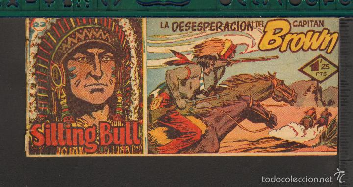 Tebeos: TEBEOS-COMICS CANDY - SITTING BULL - HISPANOAMERICANA 1951 - COMPLETA - ORIGINAL - *BB99 - Foto 23 - 58328372