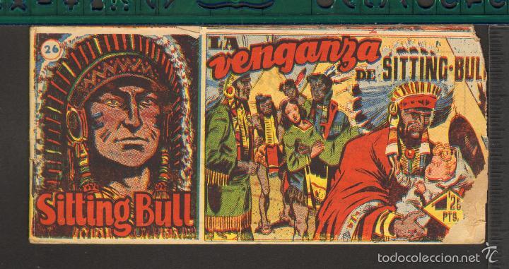 Tebeos: TEBEOS-COMICS CANDY - SITTING BULL - HISPANOAMERICANA 1951 - COMPLETA - ORIGINAL - *BB99 - Foto 26 - 58328372