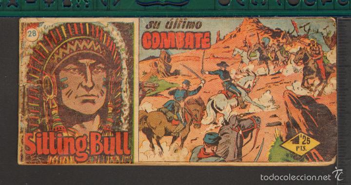 Tebeos: TEBEOS-COMICS CANDY - SITTING BULL - HISPANOAMERICANA 1951 - COMPLETA - ORIGINAL - *BB99 - Foto 28 - 58328372