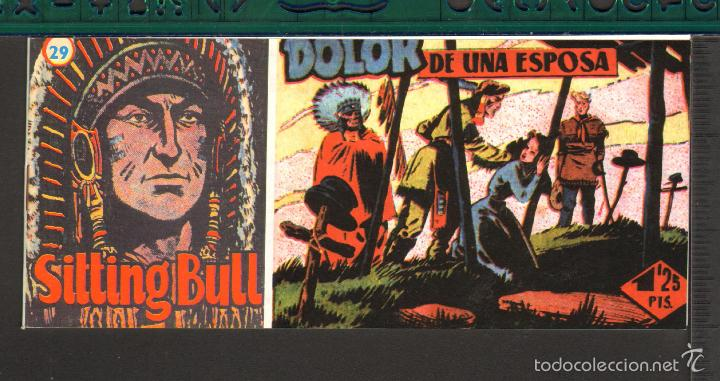 Tebeos: TEBEOS-COMICS CANDY - SITTING BULL - HISPANOAMERICANA 1951 - COMPLETA - ORIGINAL - *BB99 - Foto 29 - 58328372