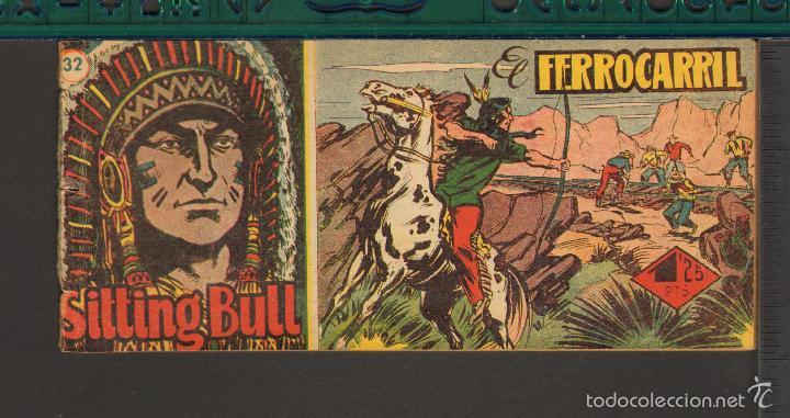 Tebeos: TEBEOS-COMICS CANDY - SITTING BULL - HISPANOAMERICANA 1951 - COMPLETA - ORIGINAL - *BB99 - Foto 32 - 58328372