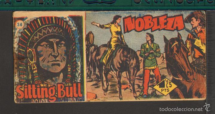 Tebeos: TEBEOS-COMICS CANDY - SITTING BULL - HISPANOAMERICANA 1951 - COMPLETA - ORIGINAL - *BB99 - Foto 34 - 58328372