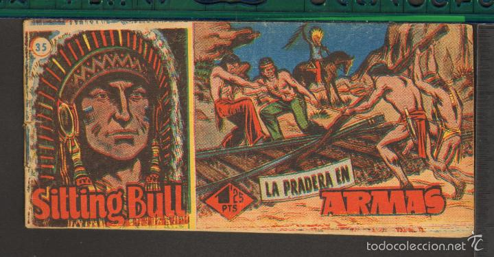 Tebeos: TEBEOS-COMICS CANDY - SITTING BULL - HISPANOAMERICANA 1951 - COMPLETA - ORIGINAL - *BB99 - Foto 35 - 58328372