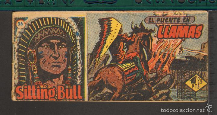 Tebeos: TEBEOS-COMICS CANDY - SITTING BULL - HISPANOAMERICANA 1951 - COMPLETA - ORIGINAL - *BB99 - Foto 36 - 58328372