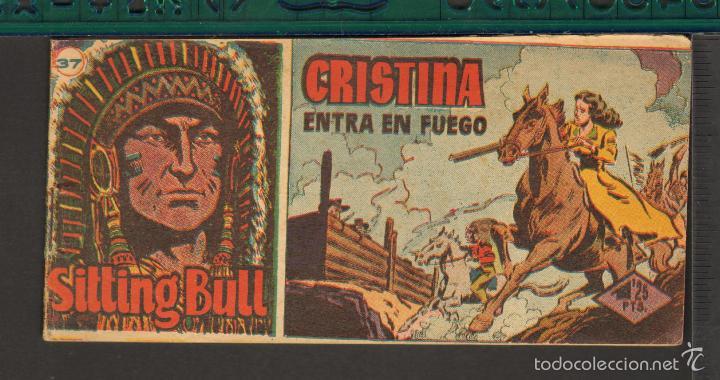 Tebeos: TEBEOS-COMICS CANDY - SITTING BULL - HISPANOAMERICANA 1951 - COMPLETA - ORIGINAL - *BB99 - Foto 37 - 58328372