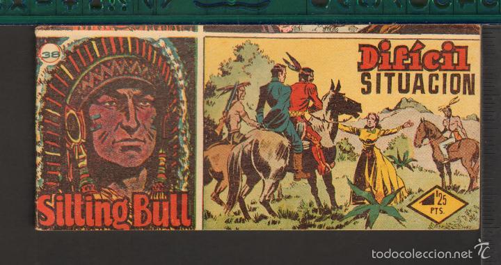 Tebeos: TEBEOS-COMICS CANDY - SITTING BULL - HISPANOAMERICANA 1951 - COMPLETA - ORIGINAL - *BB99 - Foto 38 - 58328372
