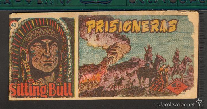 Tebeos: TEBEOS-COMICS CANDY - SITTING BULL - HISPANOAMERICANA 1951 - COMPLETA - ORIGINAL - *BB99 - Foto 40 - 58328372