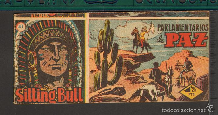 Tebeos: TEBEOS-COMICS CANDY - SITTING BULL - HISPANOAMERICANA 1951 - COMPLETA - ORIGINAL - *BB99 - Foto 41 - 58328372