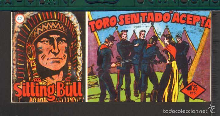 Tebeos: TEBEOS-COMICS CANDY - SITTING BULL - HISPANOAMERICANA 1951 - COMPLETA - ORIGINAL - *BB99 - Foto 42 - 58328372