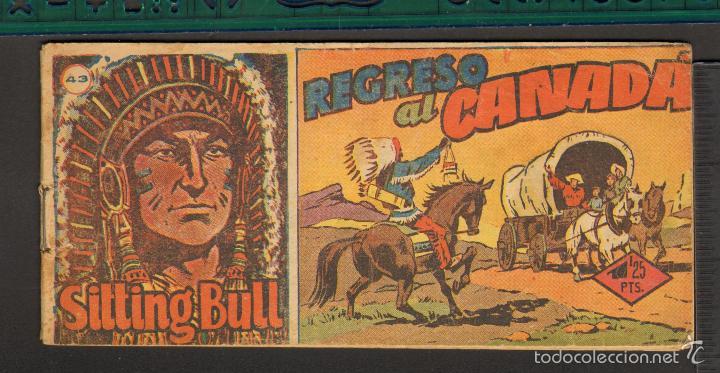 Tebeos: TEBEOS-COMICS CANDY - SITTING BULL - HISPANOAMERICANA 1951 - COMPLETA - ORIGINAL - *BB99 - Foto 43 - 58328372
