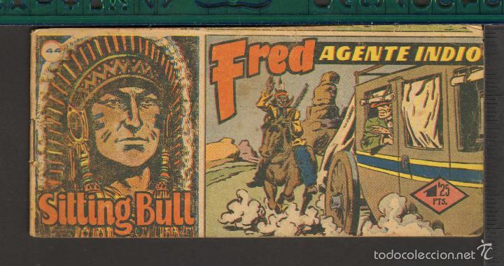 Tebeos: TEBEOS-COMICS CANDY - SITTING BULL - HISPANOAMERICANA 1951 - COMPLETA - ORIGINAL - *BB99 - Foto 44 - 58328372