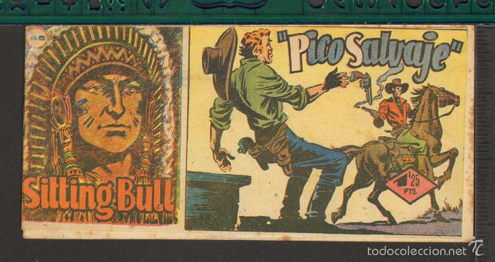 Tebeos: TEBEOS-COMICS CANDY - SITTING BULL - HISPANOAMERICANA 1951 - COMPLETA - ORIGINAL - *BB99 - Foto 45 - 58328372