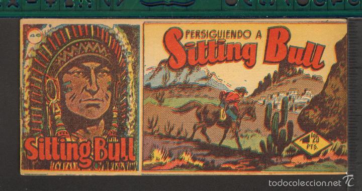 Tebeos: TEBEOS-COMICS CANDY - SITTING BULL - HISPANOAMERICANA 1951 - COMPLETA - ORIGINAL - *BB99 - Foto 46 - 58328372