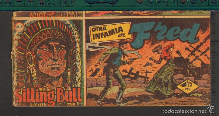 Tebeos: TEBEOS-COMICS CANDY - SITTING BULL - HISPANOAMERICANA 1951 - COMPLETA - ORIGINAL - *BB99 - Foto 47 - 58328372