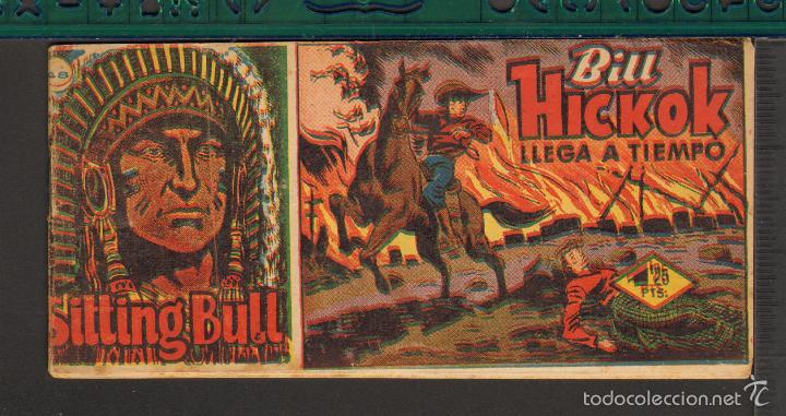 Tebeos: TEBEOS-COMICS CANDY - SITTING BULL - HISPANOAMERICANA 1951 - COMPLETA - ORIGINAL - *BB99 - Foto 48 - 58328372