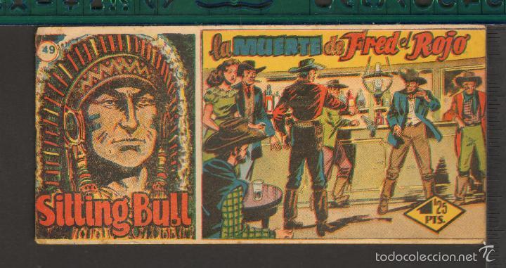 Tebeos: TEBEOS-COMICS CANDY - SITTING BULL - HISPANOAMERICANA 1951 - COMPLETA - ORIGINAL - *BB99 - Foto 49 - 58328372