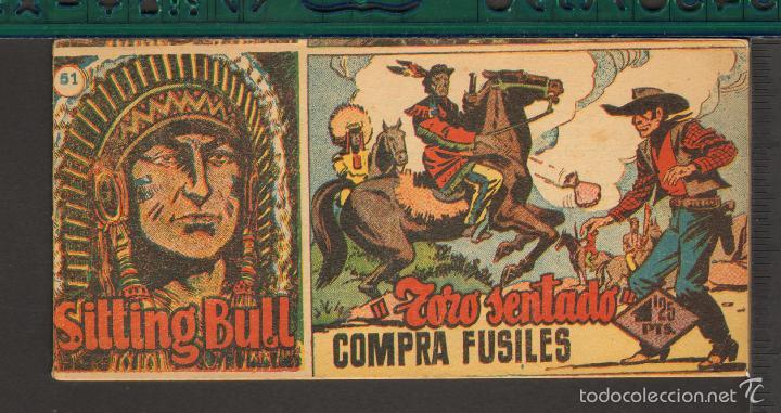 Tebeos: TEBEOS-COMICS CANDY - SITTING BULL - HISPANOAMERICANA 1951 - COMPLETA - ORIGINAL - *BB99 - Foto 51 - 58328372