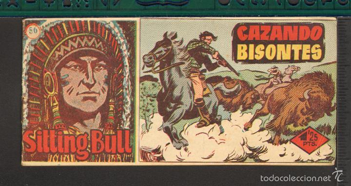 Tebeos: TEBEOS-COMICS CANDY - SITTING BULL - HISPANOAMERICANA 1951 - COMPLETA - ORIGINAL - *BB99 - Foto 56 - 58328372