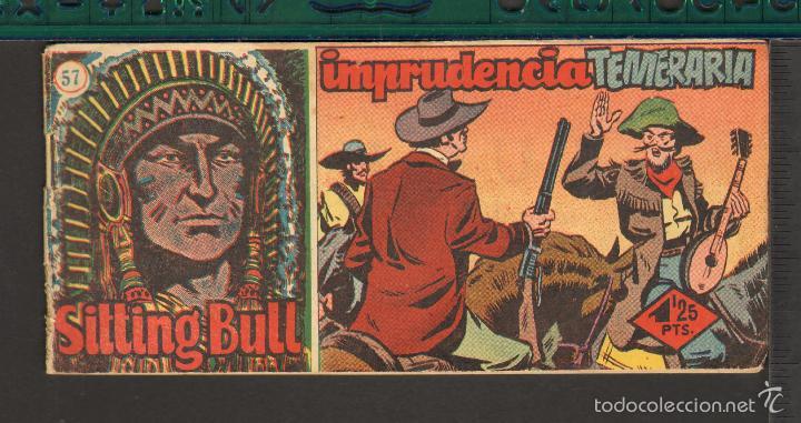Tebeos: TEBEOS-COMICS CANDY - SITTING BULL - HISPANOAMERICANA 1951 - COMPLETA - ORIGINAL - *BB99 - Foto 57 - 58328372
