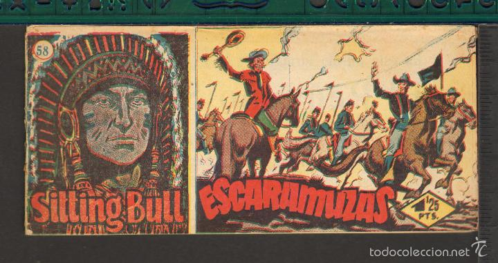 Tebeos: TEBEOS-COMICS CANDY - SITTING BULL - HISPANOAMERICANA 1951 - COMPLETA - ORIGINAL - *BB99 - Foto 58 - 58328372