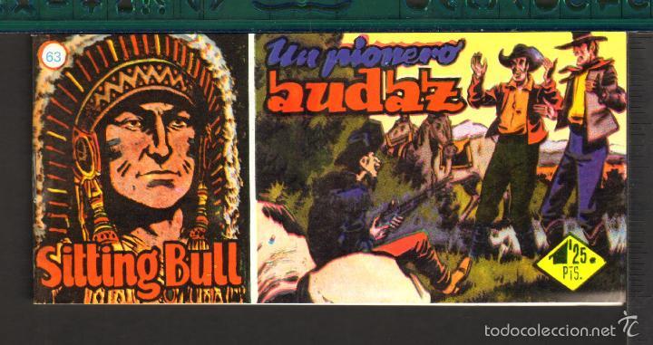 Tebeos: TEBEOS-COMICS CANDY - SITTING BULL - HISPANOAMERICANA 1951 - COMPLETA - ORIGINAL - *BB99 - Foto 63 - 58328372