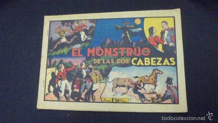MERLIN EL MAGO - Nº 7 - EL MONSTRUO DE LAS DOS CABEZAS - HISPANO AMERICANA - (Tebeos y Comics - Hispano Americana - Merlín)