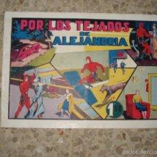 Tebeos: HOMBRE ENMASCARADO Nº 21: POR LOS TEJADOS DE ALEJANDRIA, 1941, HISPANO AMERICANA. Lote 58719453