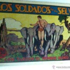 Tebeos: TARZÁN - LOS SOLDADOS DE LA SELVA. Lote 60259291