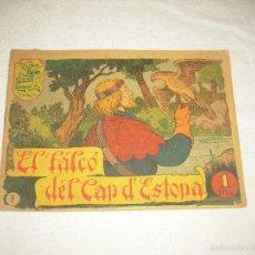 Tebeos: HISTORIA I LLEGENDA . EL FALCO DEL CAP D'ESTOPA . N° 7. Lote 61123079
