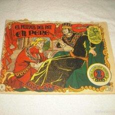 Tebeos: HISTORIA I LLEGENDA . EL PUNYAL DEL REI EN PERE . N° 9. Lote 61123479