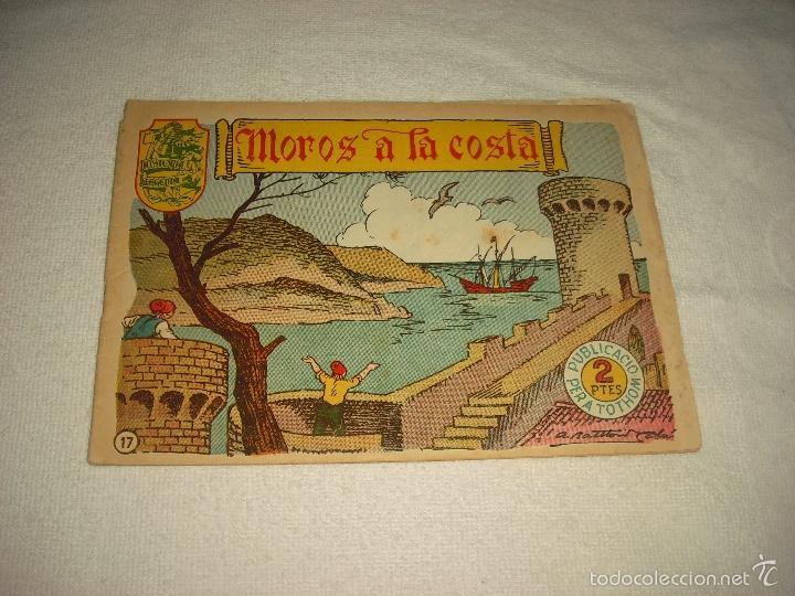 HISTORIA I LLEGENDA N. 17. MOROS A LA COSTA (Tebeos y Comics - Hispano Americana - Otros)