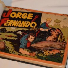 Tebeos: TOMO JORGE Y FERNANDO - 4 ALBUMES ENCUADERNADOS - EDITORIAL HISPANO AMERICANA. Lote 61285675