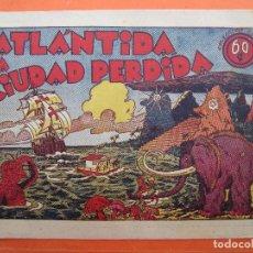 Tebeos: PEPIN Y RUFO , N. 3 , ULTIMO ATLANTIDA LA CIUDAD PERDIDA , HISPANO AMERICANA ORIGINAL 1941. Lote 61658028