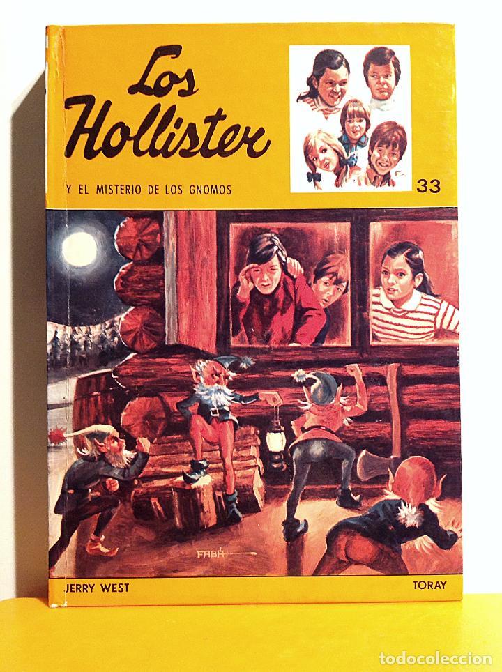 Tebeos: Colección 26 Tomos Los Hollister Y Las Monedas De La Suerte Año 1969 - Foto 25 - 106909175