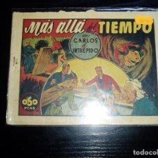 Tebeos: CARLOS EL INTREPIDO. MAS ALLA DEL TIEMPO. ORIGINAL. HISPANO AMERICANA. 0,60 PTS.. Lote 62378336