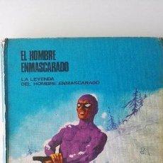 Tebeos: 2 TOMOS DEL HOMBRE ENMASCARADO, AÑO 1972. Lote 62393620