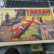 Tebeos: TARZAN PRISIONERO CON CROMO FUTBOL CONTRAPORTADA. Lote 62763176