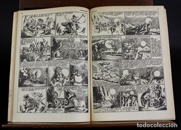 Tebeos: 8062 - EDICIONES HISPANO AMERICANAS. 4 ALMANAQUES(VER DESCRIPCIÓN). 1945/1946. - Foto 4 - 62809772
